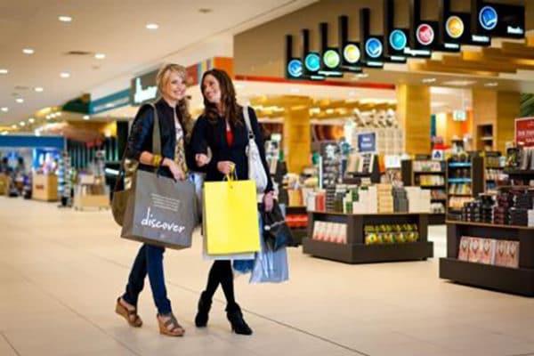 Qantas retail precincts
